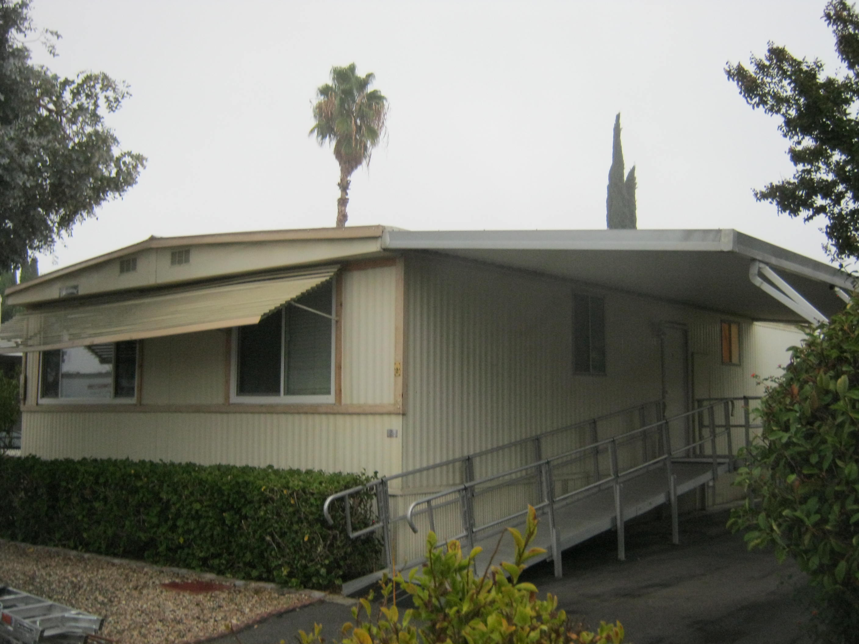 Before (1 of 4 mobile homes)