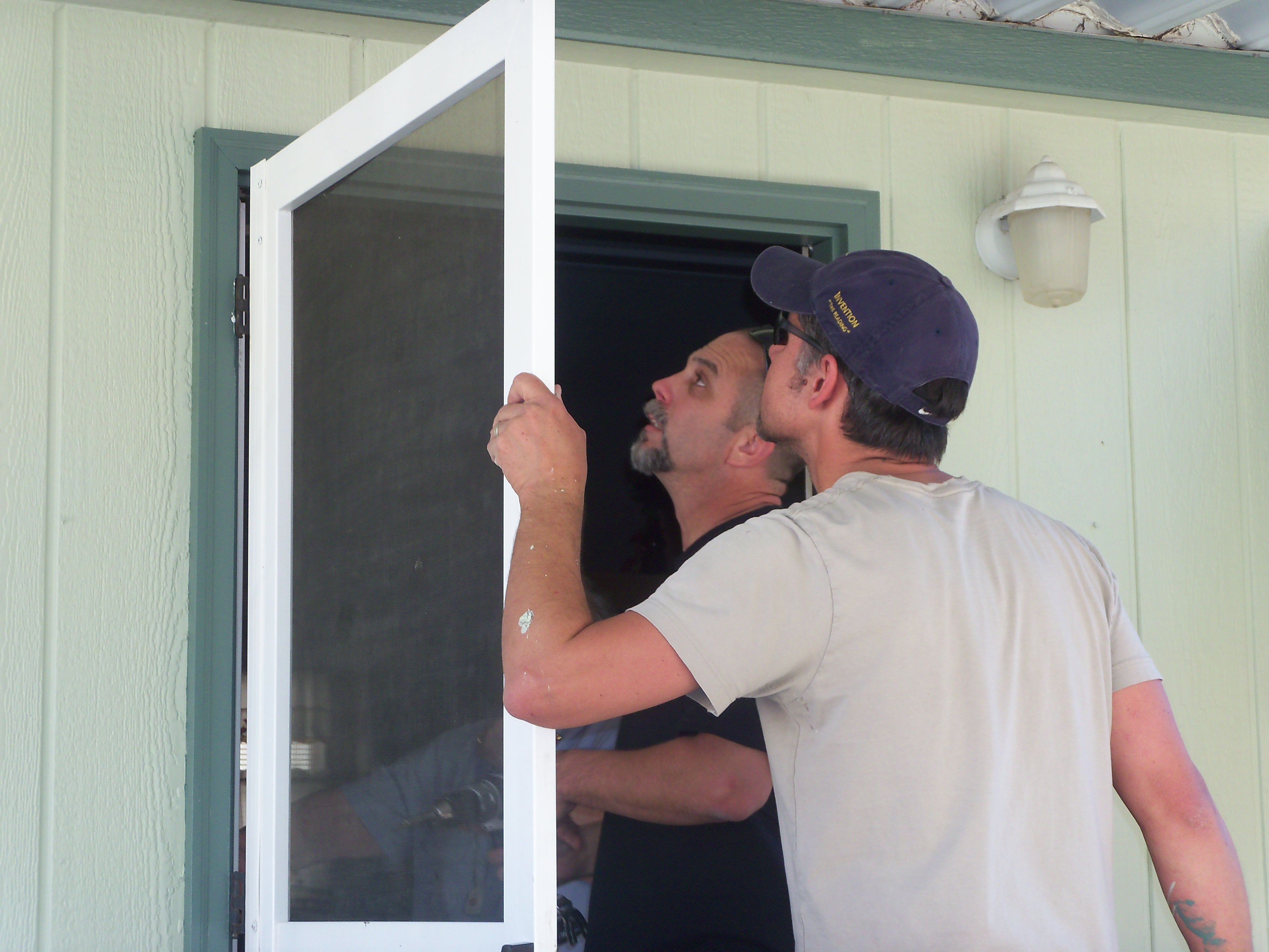 Fixing A Broken Door