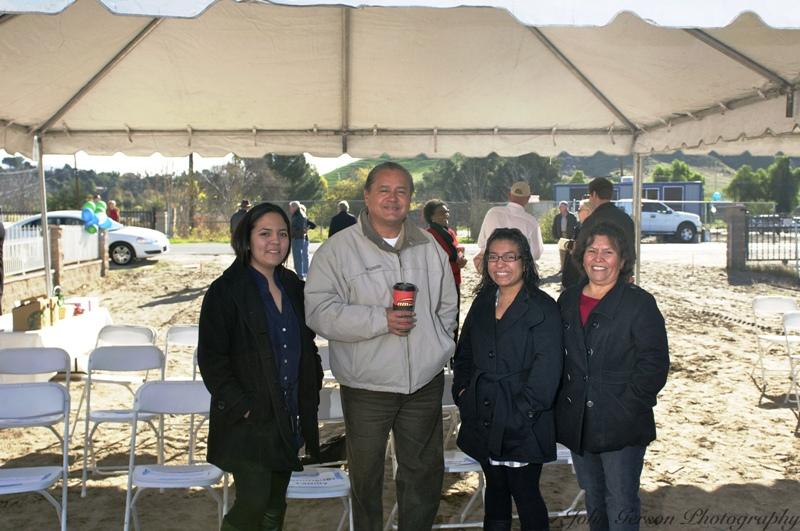 HFHR Board VP Jesus Morales & Dominguez Family