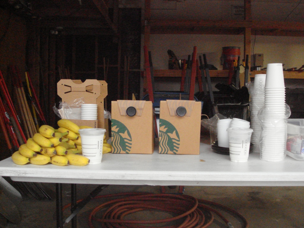 Coffee Donation from Starbucks #10666