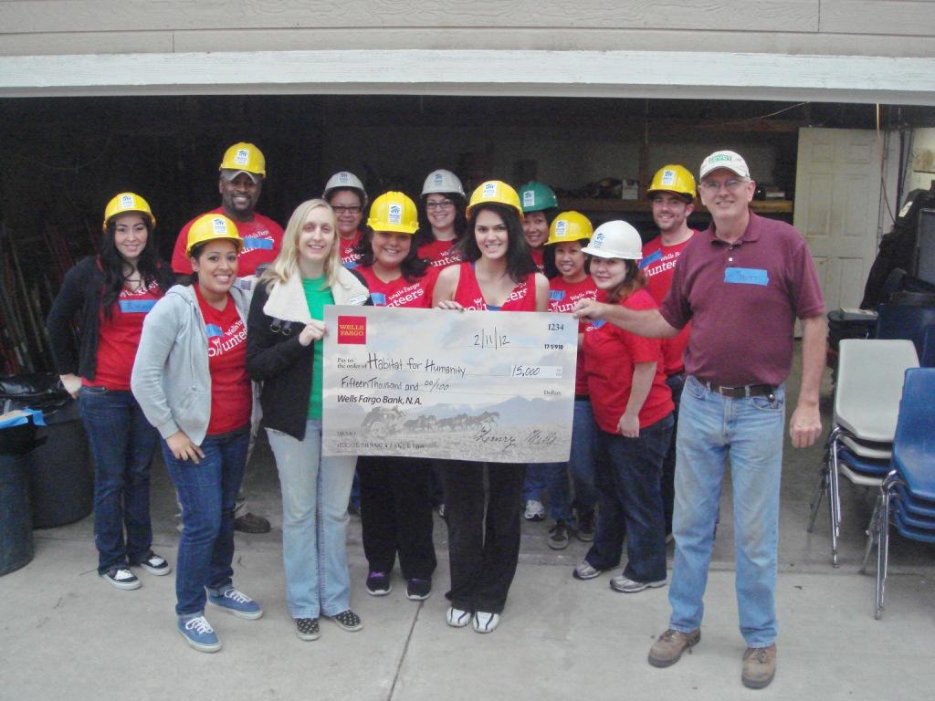 Wells Fargo Demolition Day-Donation!