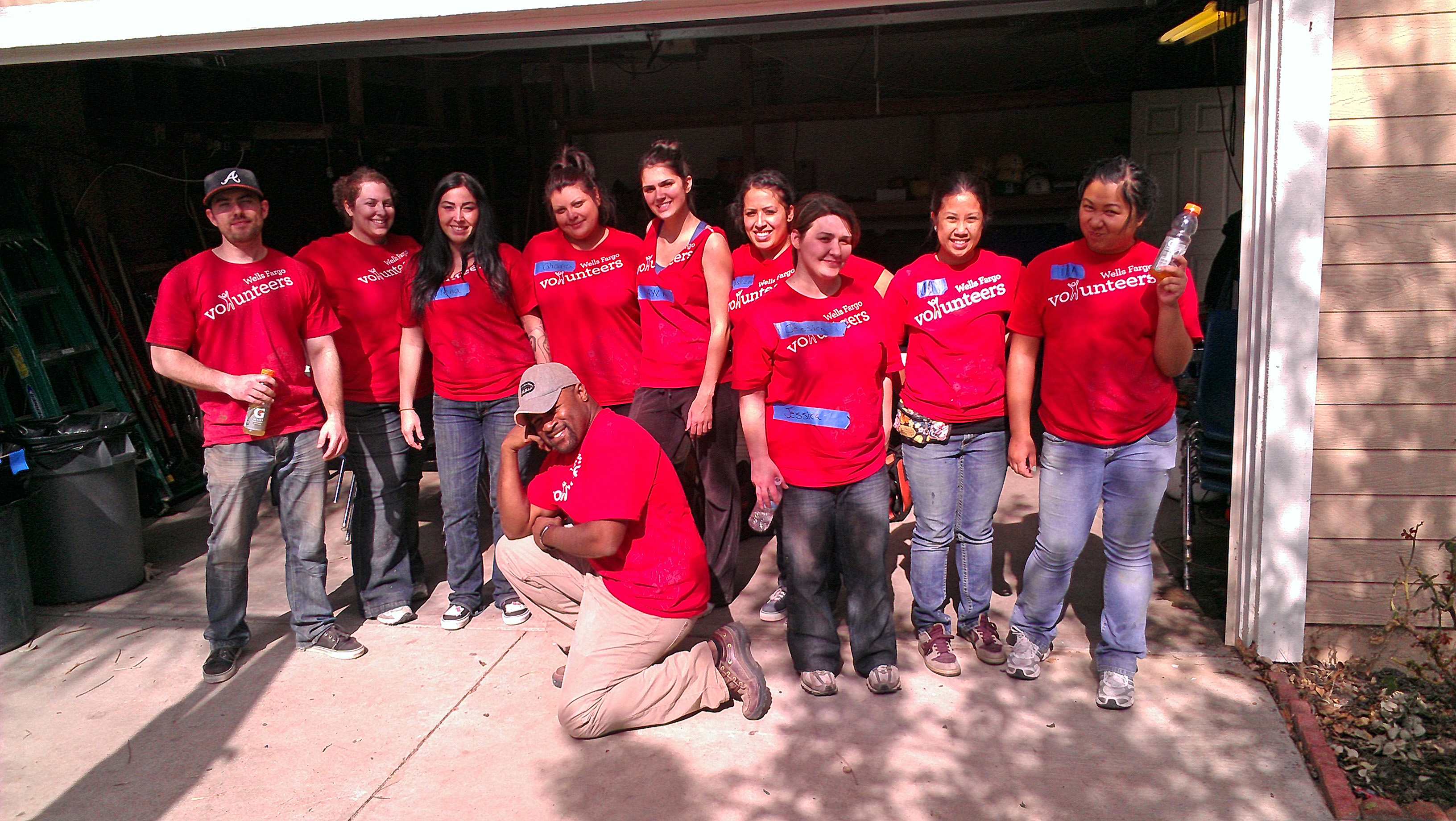 2/11/12-Wells Fargo Demolition Day-Group Shot