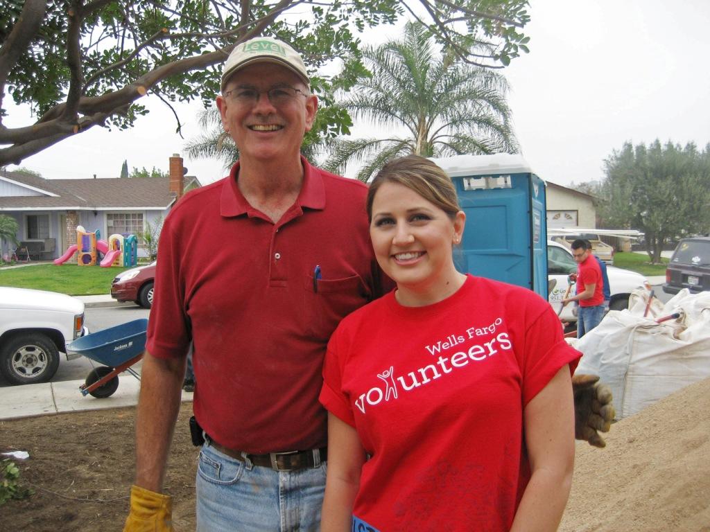 Wells Fargo 160 Year Anniversary IE Volunteer Activity