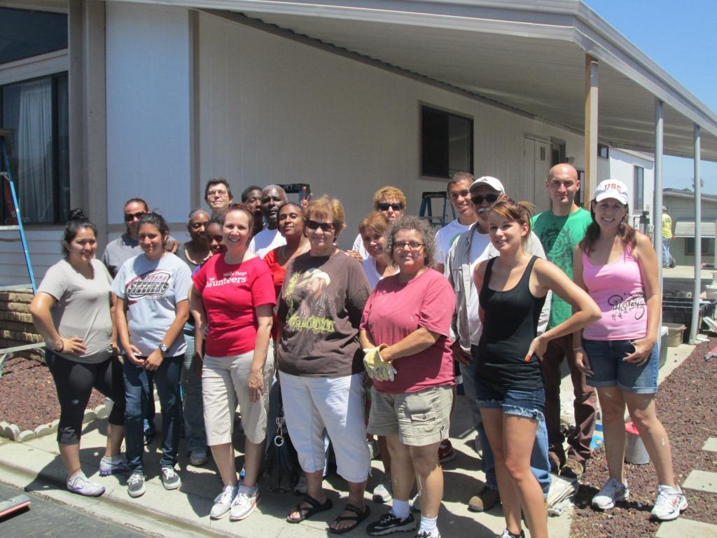 6/22/2013: Habitat Volunteers