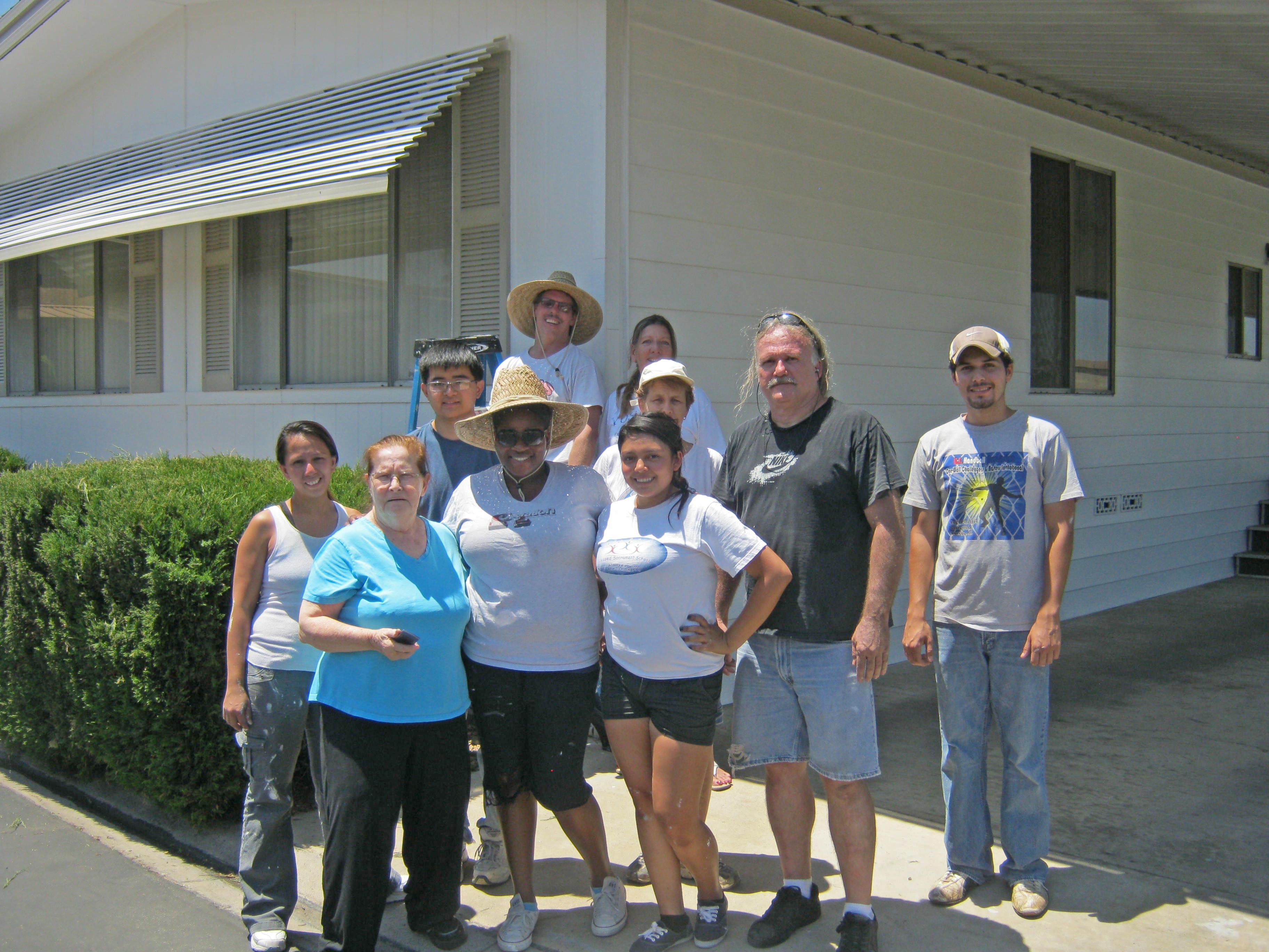 7/21/12 Volunteer Group