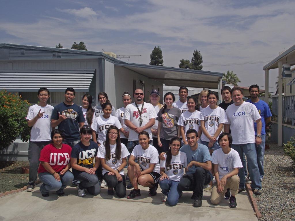 8/3/12: UCR Volunteer Day