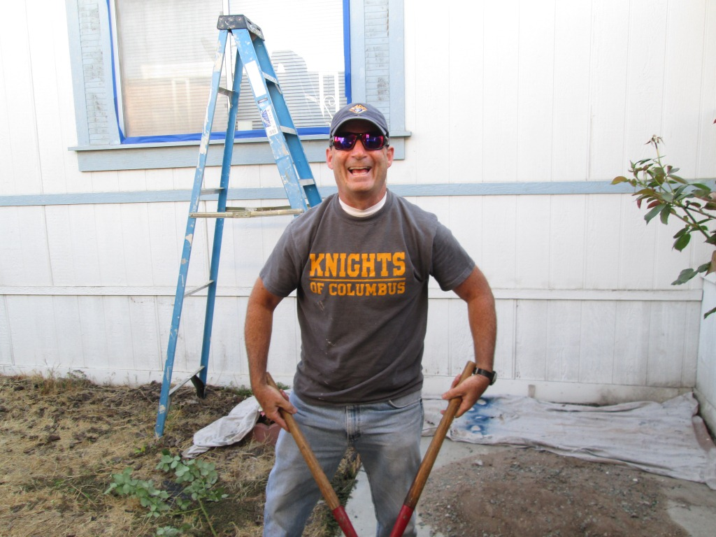 8/17/13: HFH Volunteers & Knights of Columbus