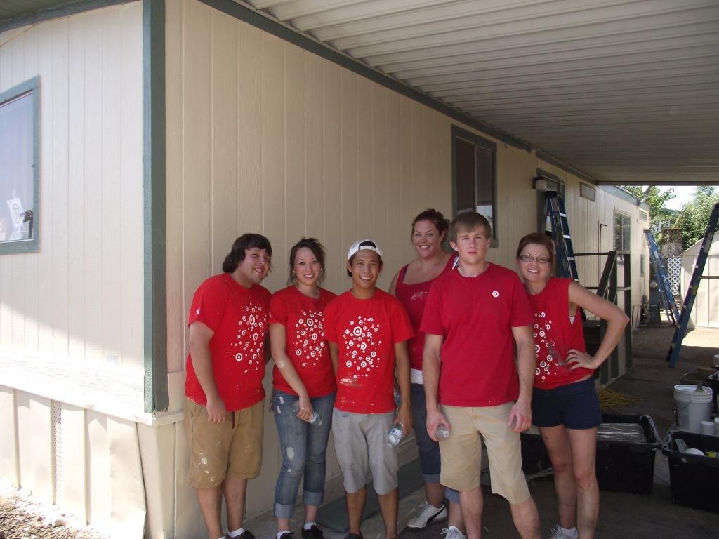 8/18/12: Target Volunteer Group