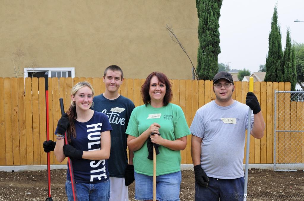 9-10-11: Graham Street Habitat Families Still Pitching In