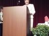 9-15-11: Karin Roberts at the podium