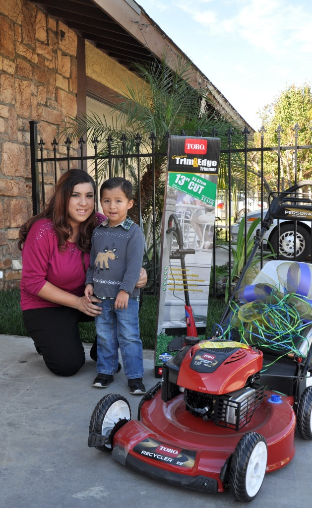 The Garcia Family Receives Keys