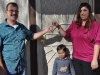 The Garcia Family Receives Keys