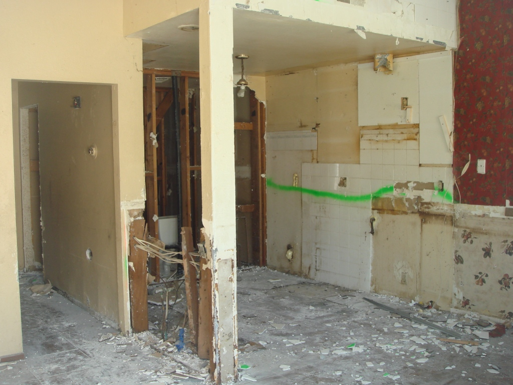 1-Kitchen & Hall Demo