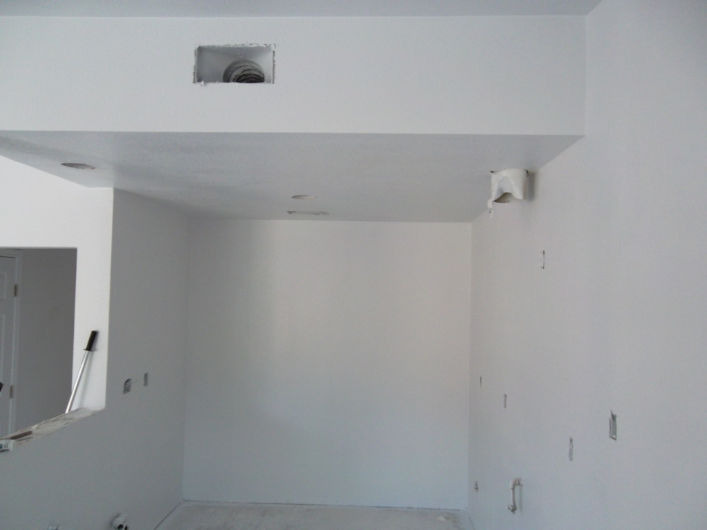 2a-Kitchen Wall Const
