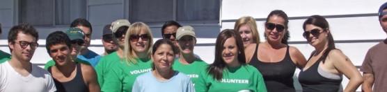 10/8/11: SCE & Habitat families and volunteers