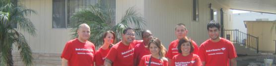 9/26/12: Bank of America Volunteers