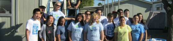 11/20/12: Ramona HS Helped Beautify a Santiago Estate Home