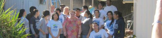 1/21/13: Ramona HS Habitat Club Strikes Again!