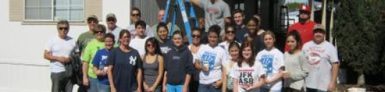 2/16/13: NBCC and Ramona Interact Club Paints Two Homes