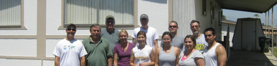 4/20/2013: Corona Presbyterian Volunteers Surprise Homeowner With Great Results!