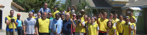 4/27/2013: Church Members Serve at the Home of the Brave
