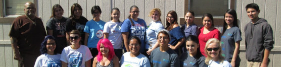 10/12/13: Ramona High and Members from Coptic Christian Church Join Forces to Help Senior
