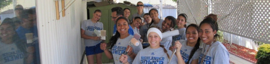 1/25/2014: UCR Softball Team Paints With Style!