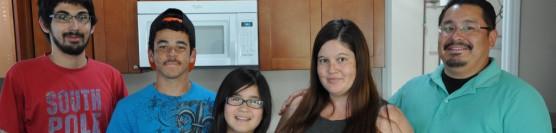 5/17/14: Wonderful Veteran Family Receives Keys To Their New Home