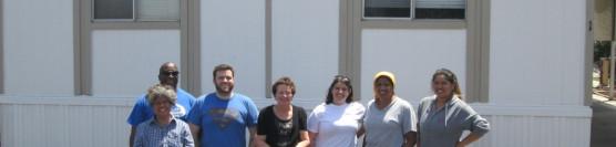 5/9/14: Habitat Volunteers Give a Fresh Look to a Corona Senior's Home