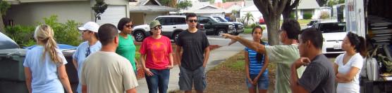 8/2/14: EDA and Community Volunteers Helping a Veteran