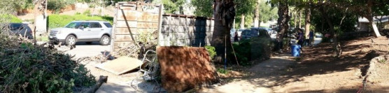 9/13/14:Yard Clean-up with 163rd Security Forces and Class 74 Correctional Deputies