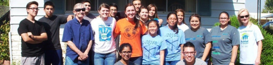 10/11/14: A Fresh Start with Ramona HS's Habitat Chapter