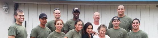 12/5/2014: Yard Clean-up with Riverside Correctional Deputies