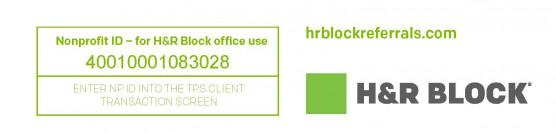 H&R Block Non-Profit Referral Program