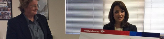 $50,000 Donation from Bank of America Charitable Foundation