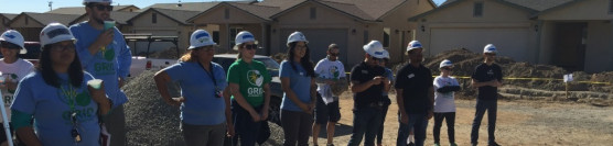Solar Power for Eight Habitat Homes