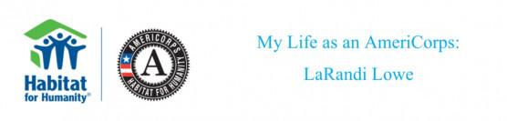 My Life as an AmeriCorps National Member- LaRandi