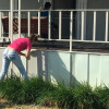 Alpha Gamma Sigma State Honor Society Helps William Restore the Look of His Home