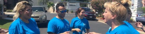 Sysco Volunteers Help A Veteran Family