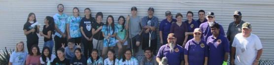 Ramona High School and Riverside Lions Help Landscape!