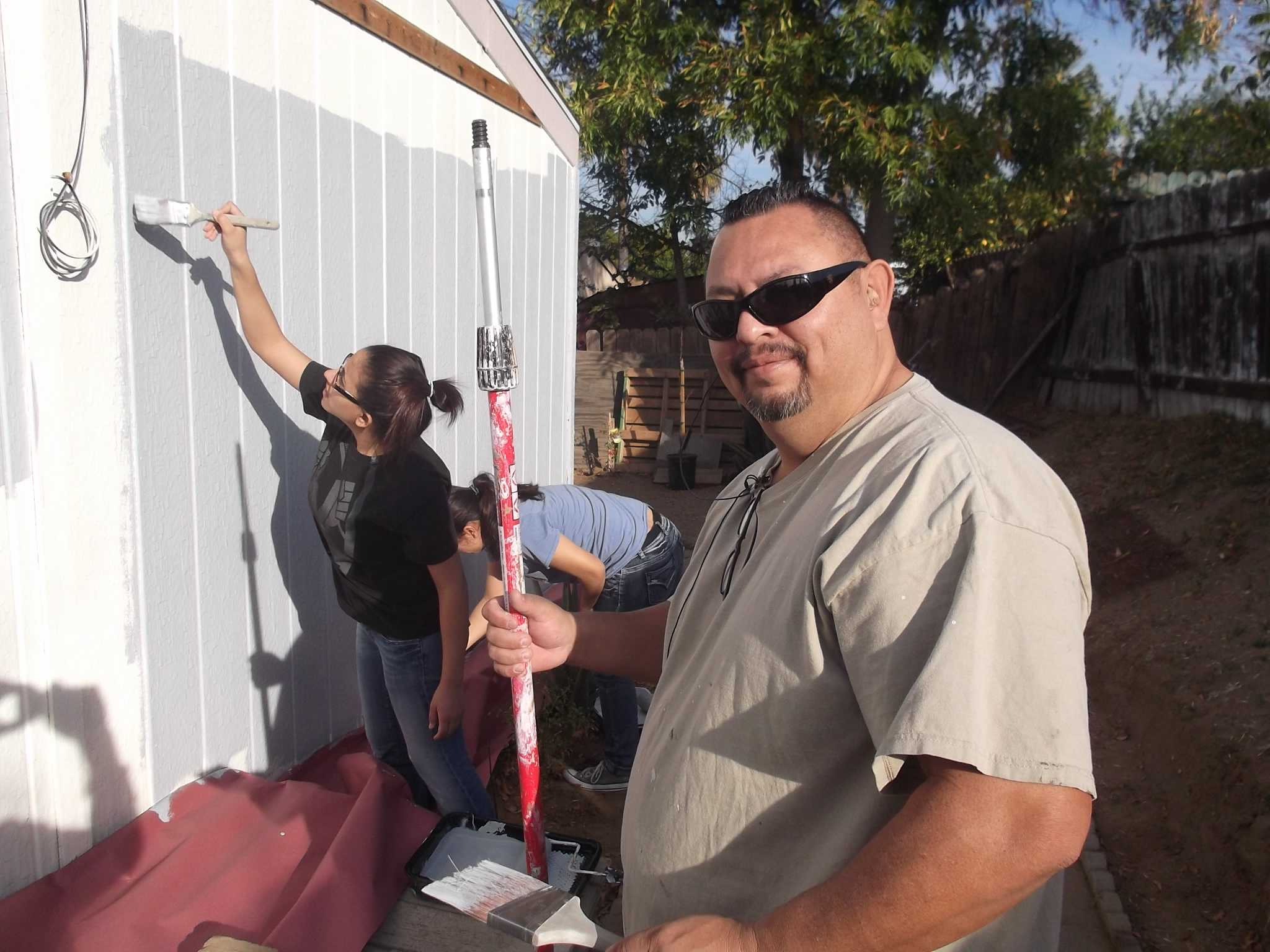The Days Focus Was Helping Hortencia And Santiago At Estates Mobile Home Park In Riverside Family Of Five Purchased Their Made