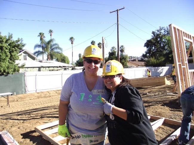 Habitat Home Owners Casey Reynolds & Stephanie Cordero