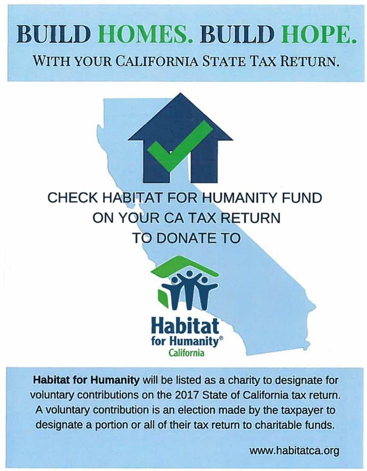 Donate with your Tax Return - Habitat for Humanity Riverside