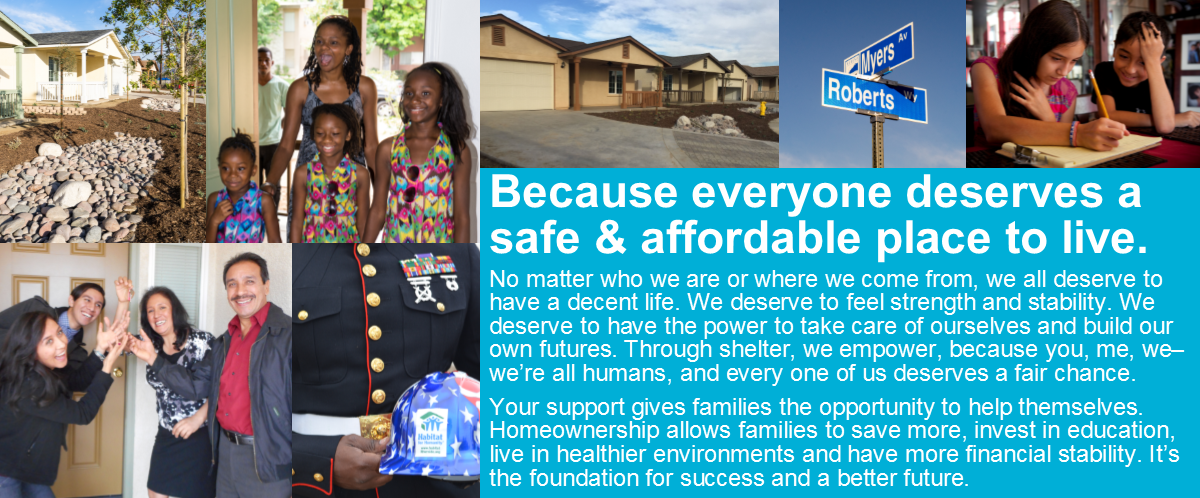 Because everyone deserves a safe & affordable place to live. A Home for All Seasons