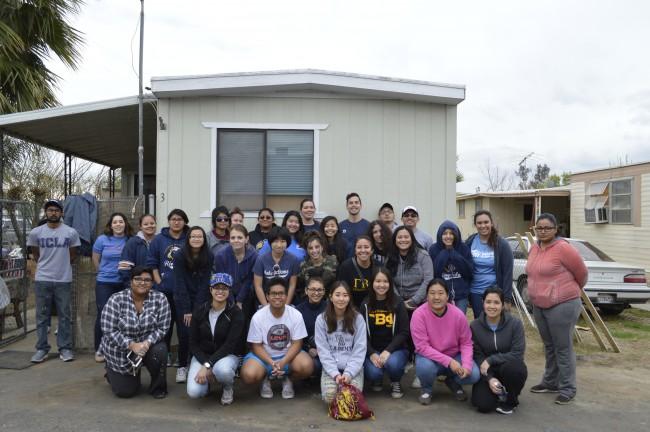 Eden Lutheran Church, UCR Habitat Chapter, and UCR Sigma Pi Alpha