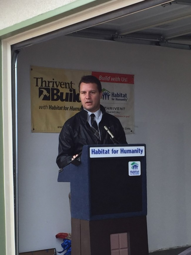 Woodbine Dedication- Speaker- Nick