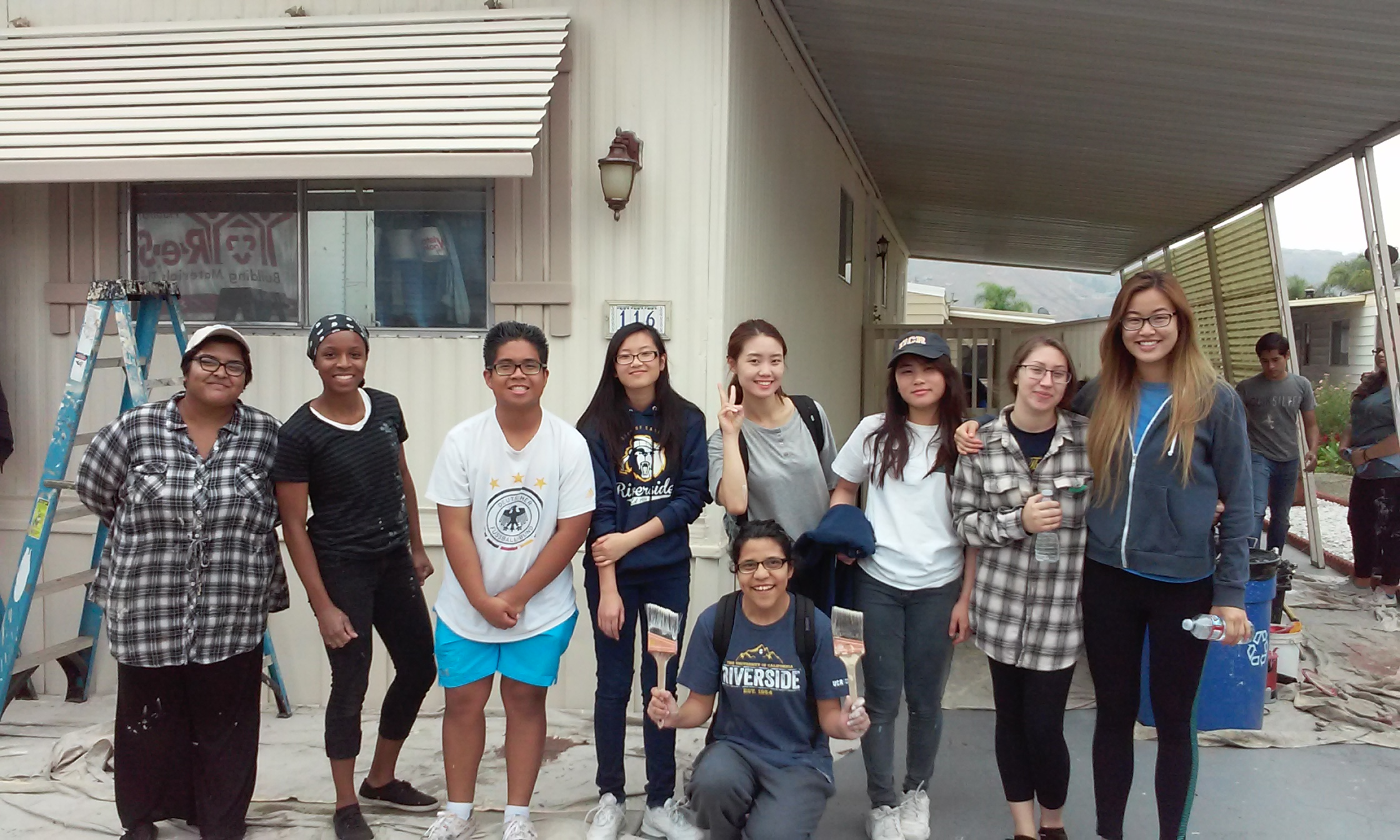 Students and State Farm Lend a Hand