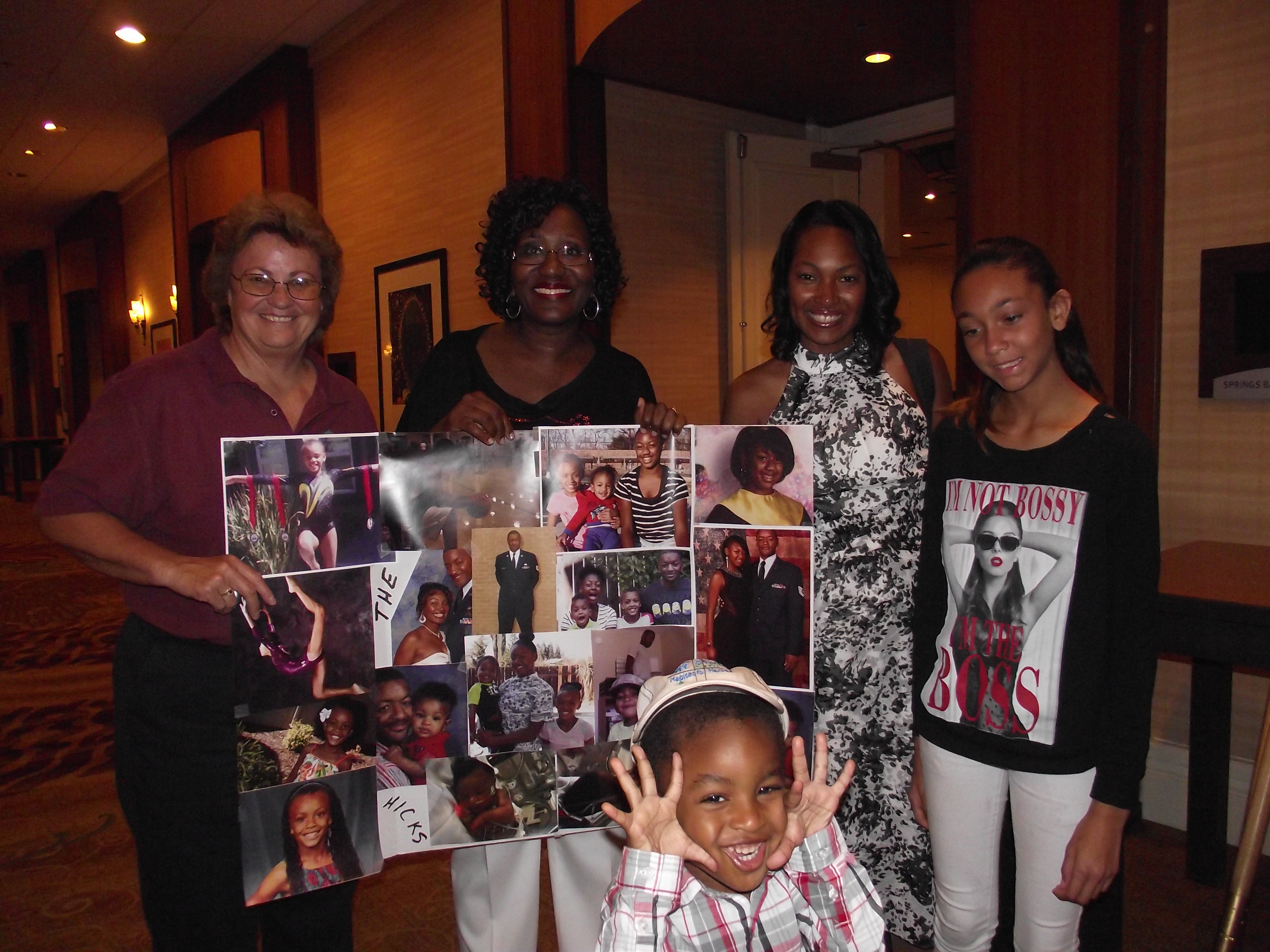 Hicks family with Jack and Jill of America, Inc.