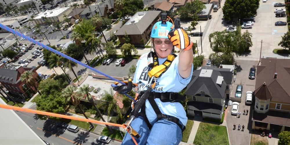 Kathy Michalak Goes Over the Edge