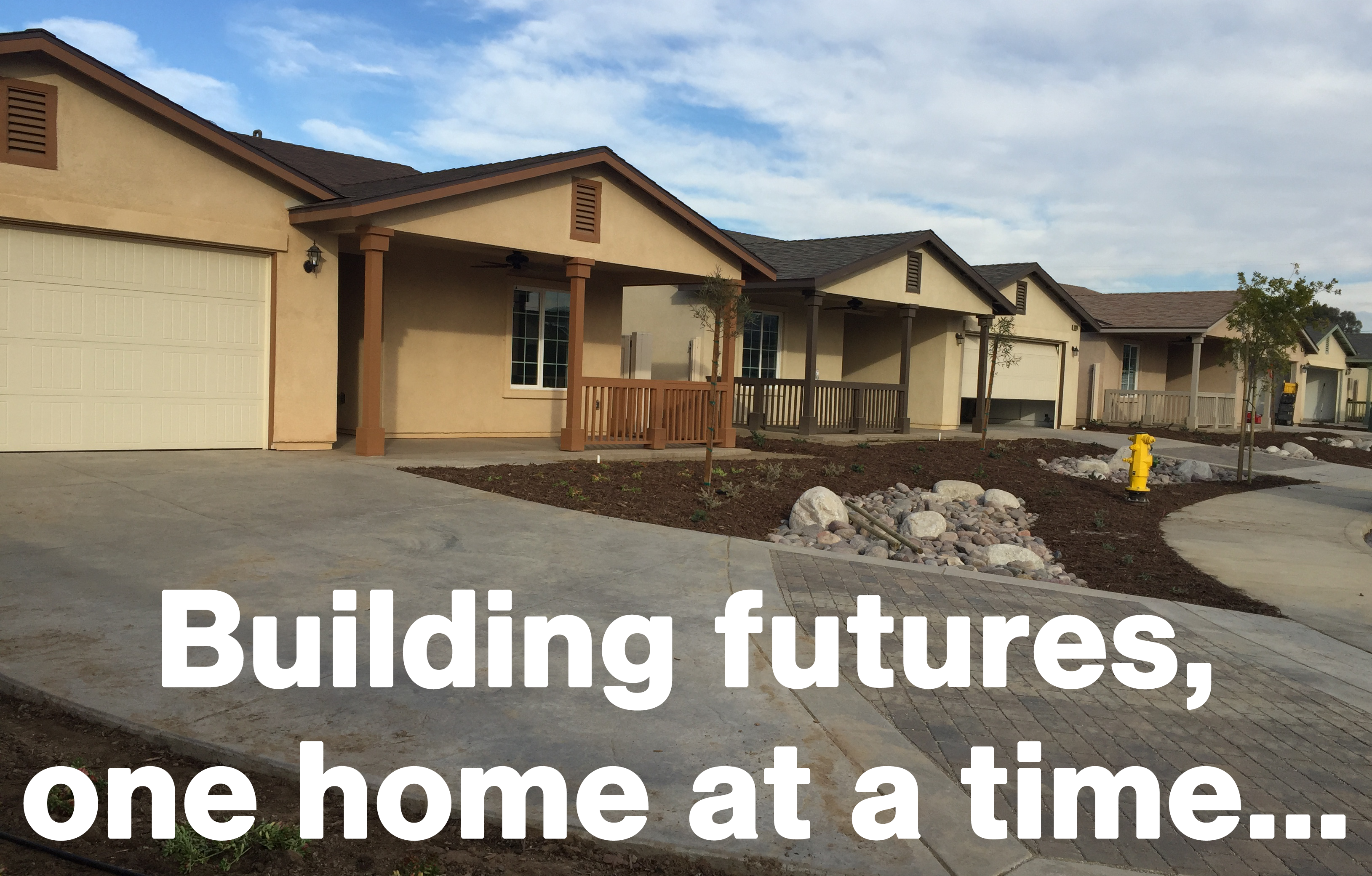 Building futures, one home at a time...
